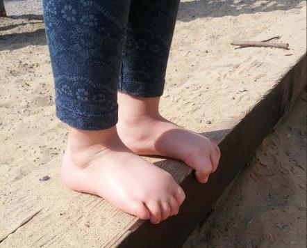 úchop nohy
