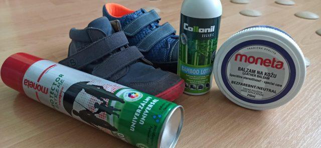 Čistenie, impregnácia a starostlivosť o obuv