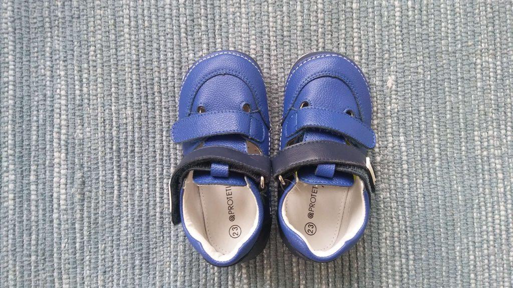 Sandále Protetika Flip Navy, recenzia