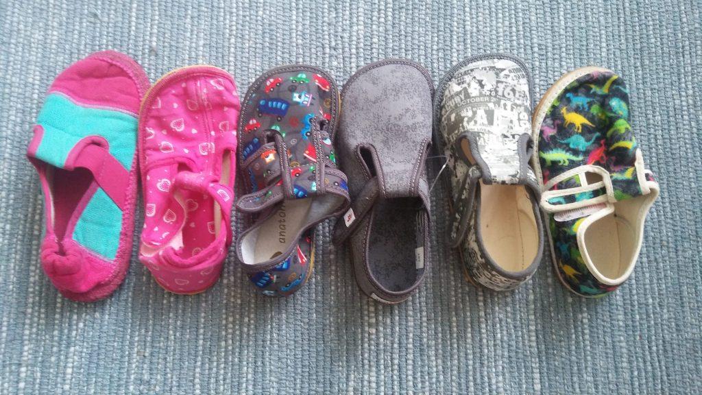 Veľké papučové porovnanie