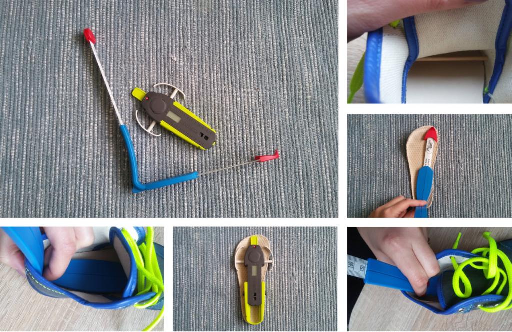 Ako odmerať vnútornú dĺžku a šírku obuvi