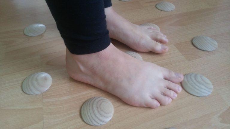 Nohy a vnímanie povrchu