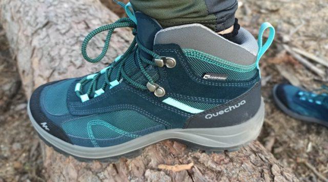 Turistické topánky z Decathlon