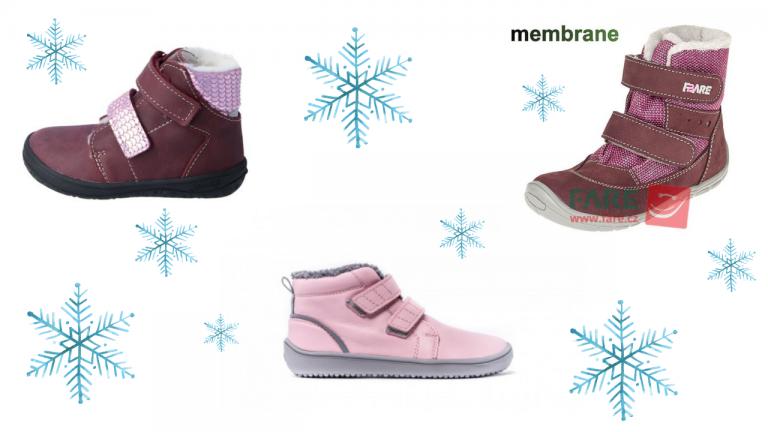 Detské zimné topánky – prehľad modelov