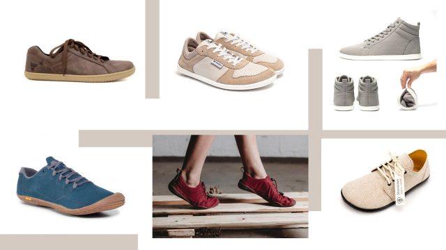 Barefoot topánky pre dospelých – prehľad podľa typov nôh