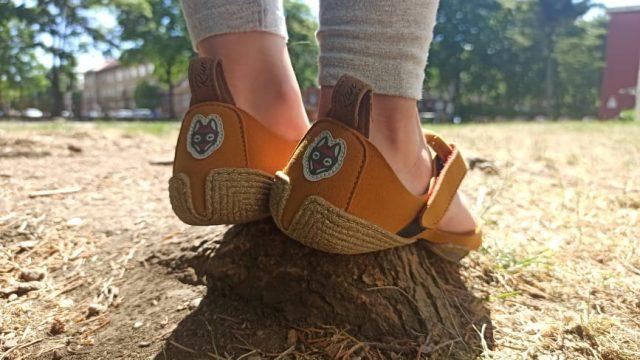 Wildling Feather, barefoot sandále, recenzia