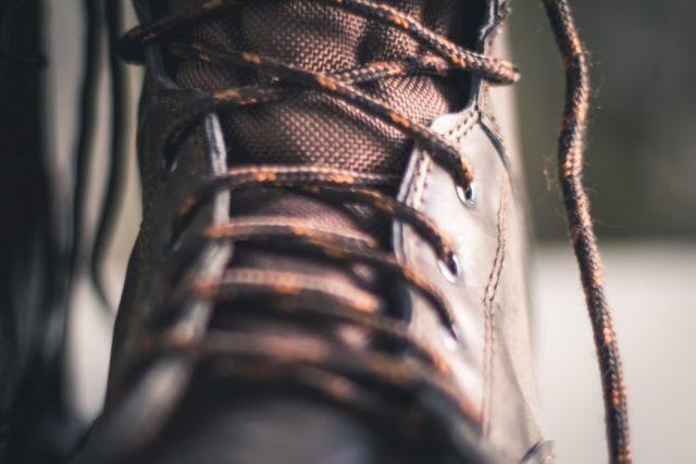 pracovna obuv detail