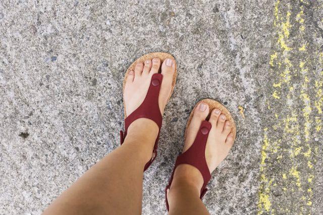 Feelgrounds Seaside barefoot sandále, recenzia