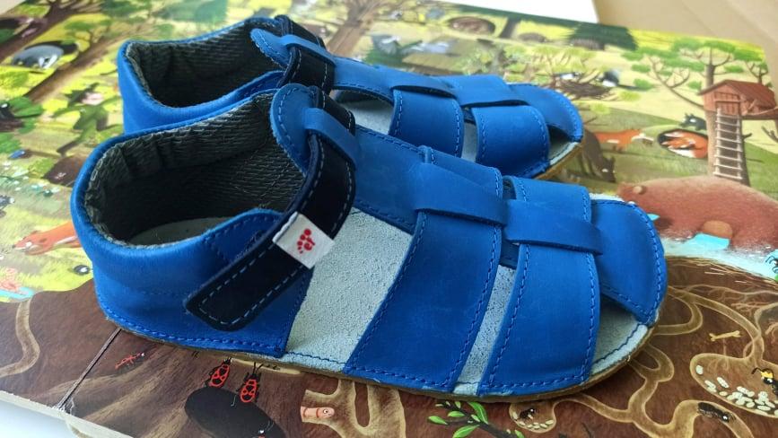 Barefoot sandále Ef, recenzia